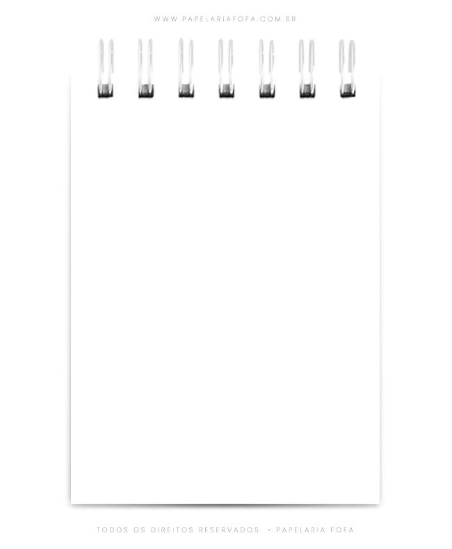 Bloquinho Médio – 10 x 14 cm –  R$24,90